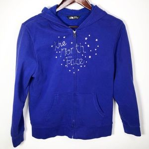 The North Face Girls Constellation Stars Hoodie XL